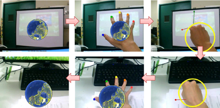 Virtual English Classroom AR